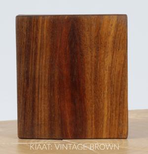 Kiaat Vintage Brown